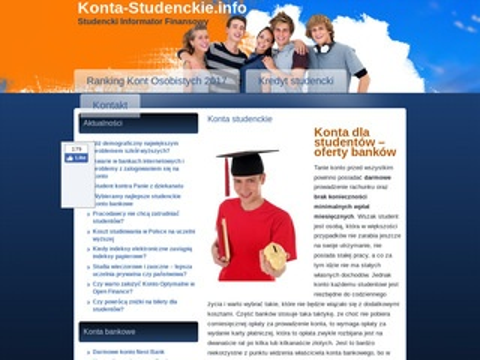 Konta-studenckie.info - ranking kont