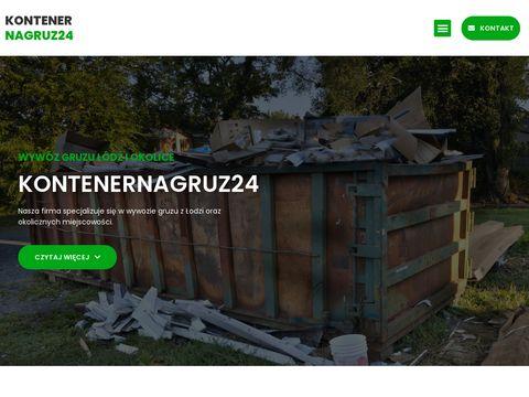 Kontenernagruz24.pl Łódź
