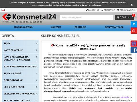 Konsmetal24.pl drzwi antywłamaniowe