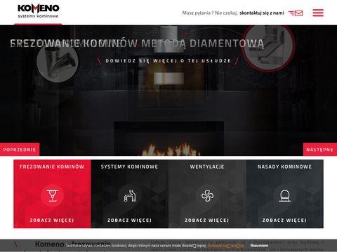 Komeno.pl frezowanie kominów