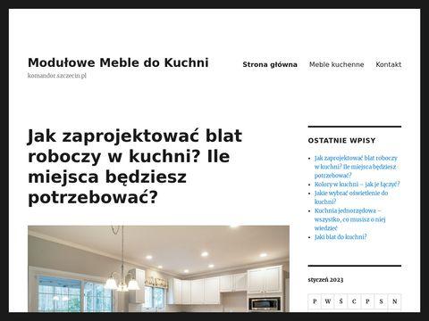 Komandor.szczecin.pl zabudowa kuchenna