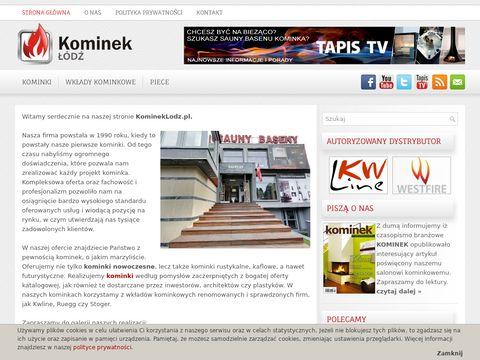 Komineklodz.pl - kominki, wkłady kominkowe