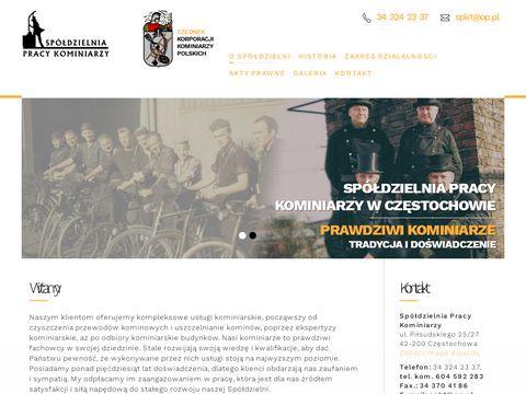 Kominiarze.czest.pl Spółdzielnia Pracy śląskie