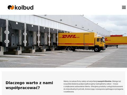 Kolbud.pl bramy przemysłowe, mosty przeładunkowe