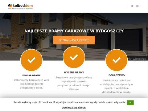 Kolbuddom.pl bramy garażowe, ogrodzenia, drzwi okna