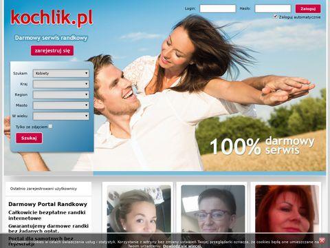 Kochlik.pl darmowy portal randkowy