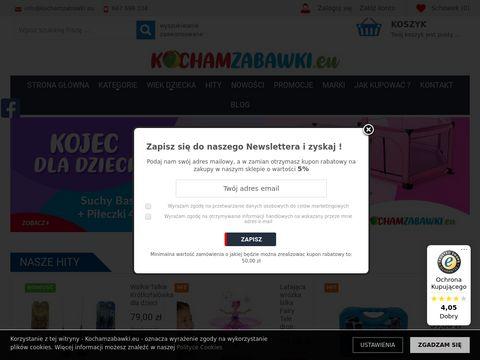 KochamZabawki.eu sklep z artykułami dla dzieci