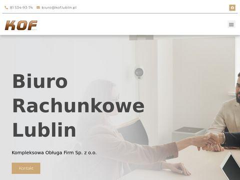 KOF - biuro rachunkowe w Lublinie