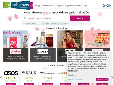 Kod-rabatowy.pl posiada kody promocyjne do online-sklepów
