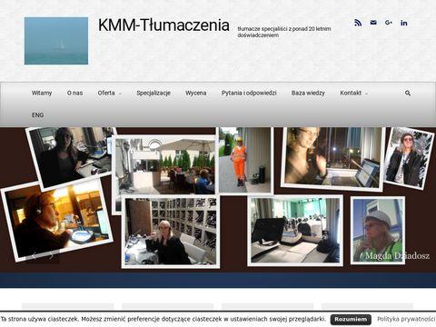 KMM-Tłumaczenia specjalistyczne język angielski