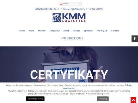 Kmmlogistics.pl transport międzynarodowy