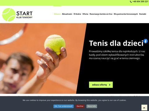 Start - wynajem sprzętu tenisowego