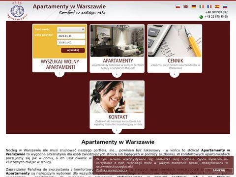 Klubturysty.pl apartamenty Warszawa