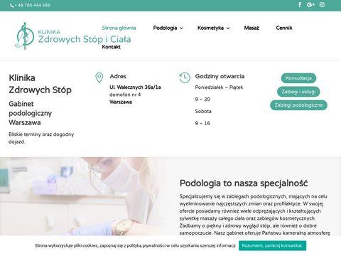 Klinikazdrowychstop.com - gabinet Podologiczny