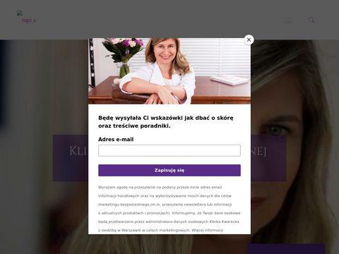 Klinikakwarecka.pl wampirzy lifting Warszawa