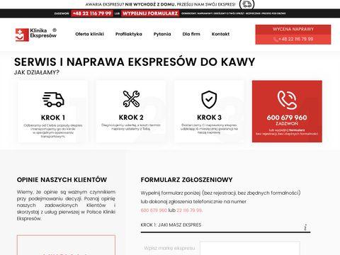 Klinikaekspresow.pl - naprawa