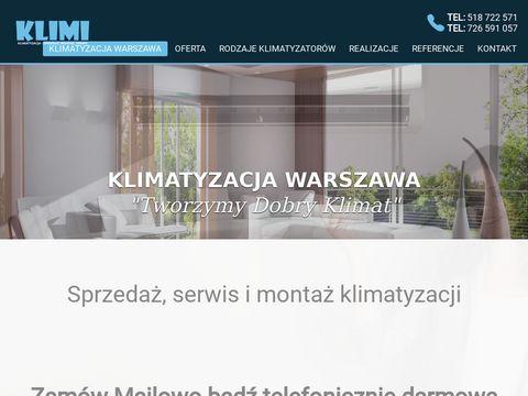 Klimi.com.pl klimatyzacja sprzedaż, montaż