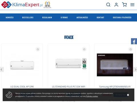 Klimaexpert.pl klimatyzacja, kurtyny powietrzne