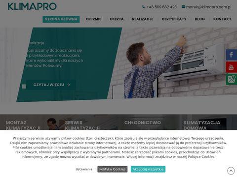 Klimapro.com.pl chłodnictwo Białystok