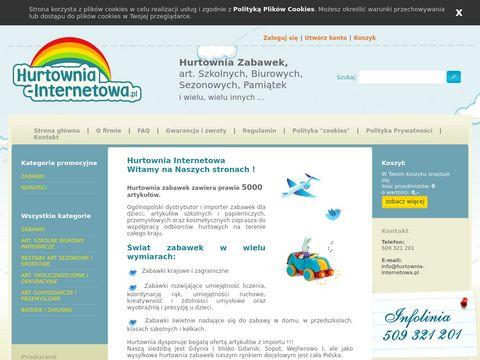 Hurtownia-internetowa.pl zabawki