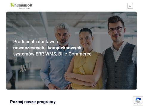 Humansoft.pl systemy erp, zarządzanie produkcją