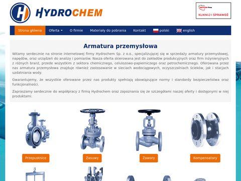 Hydrochem.com.pl armatura przemysłowa