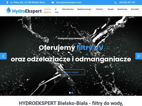 Hydroekspert.com odżelaźnianie wody bielsko
