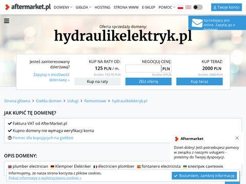Usługi hydrauliczno-elektryczne Wrocław
