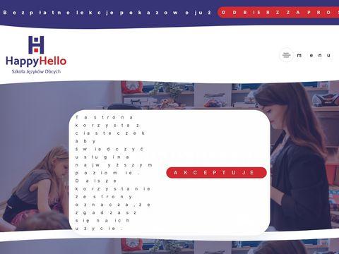 Happyhello.pl - angielski dla dzieci