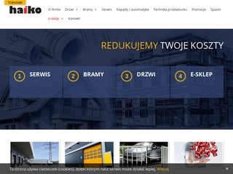 Haiko.pl serwis i konserwacja bram, szlabanów, ramp