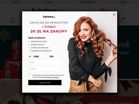 Sklep fryzjerski Hairstore