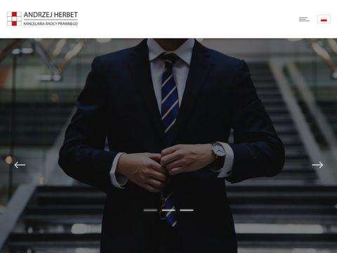Andrzej Herbet kancelaria radcy prawnego Lublin