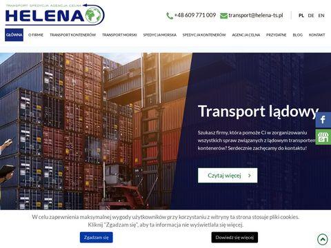 Transport morski HELENA-TS Gdynia