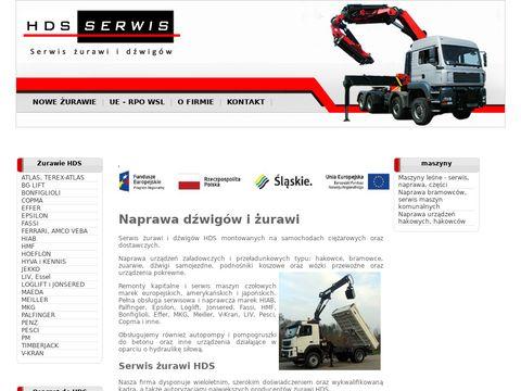 HDS Serwis – naprawa Hiab