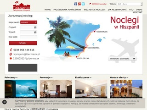 Hiszpania-apartamenty.pl wczasy Hiszpania