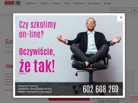 High5.com.pl - trening menedżerski
