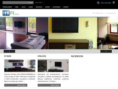 Instalacje Audio Video multimedialne, nagłośnienie