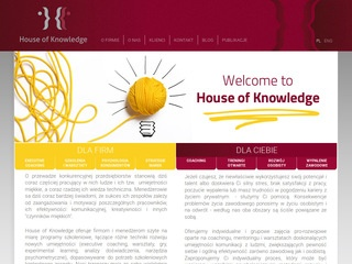 House Of Knowledge - coaching, szkolenia