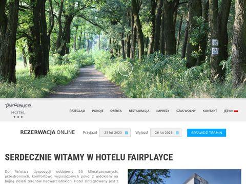 Hotelfairplayce.pl w Poznaniu