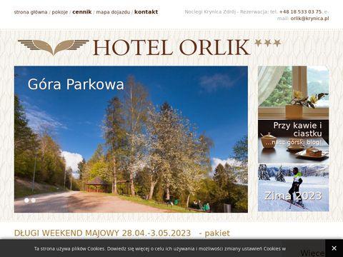 Hotelorlik.pl w Krynicy-Zdroju
