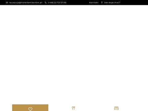 Hotellamberton.pl Warszawa okolice