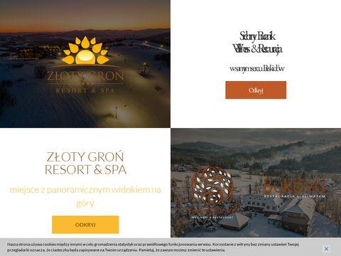 Hotelzlotygron.pl restauracja w górach