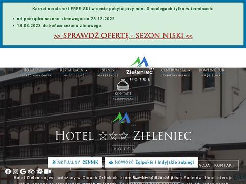 Hotelzieleniec.pl
