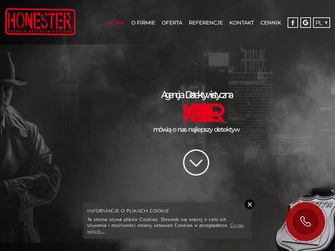 Agencja Detektywistyczna Honester - detektyw