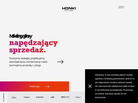 Honki Multimedia agencja interaktywna