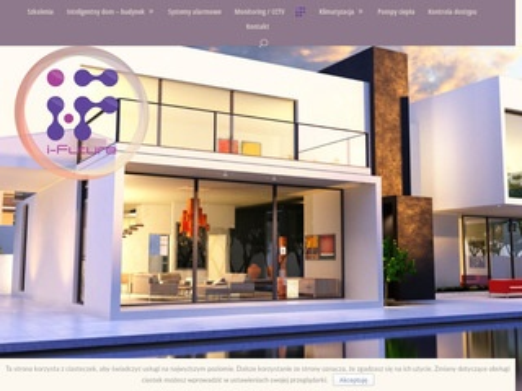 I-Future - inteligentny dom, systemy alarmowe, telewizja cctv