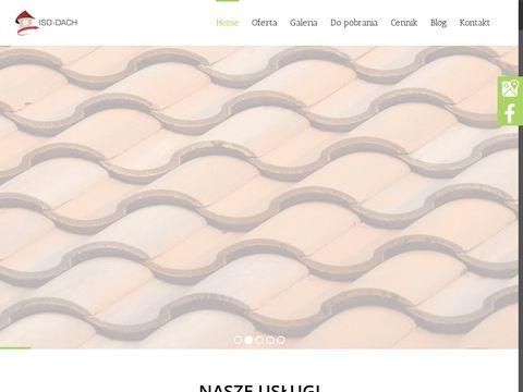 Iso-dach.eu wdmuchiwanie dociepleń