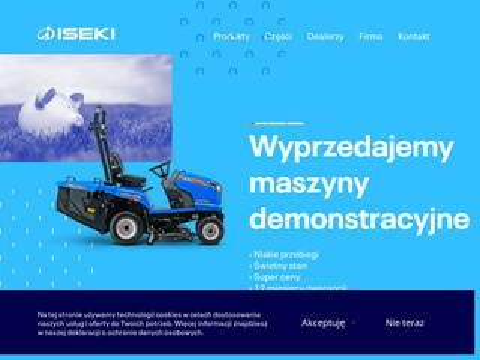 Iseki.pl - kosiarki traktorki