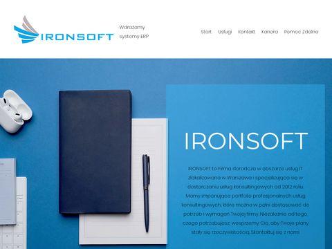 IRON SOFT - systemy ERP CDN XL Comarch Optima