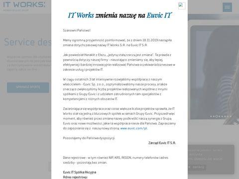 Itworks.pl - usługi w chmurze